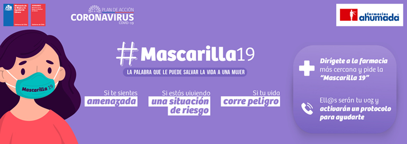 "#Mascarilla19 (""Mask 19"") graphic"