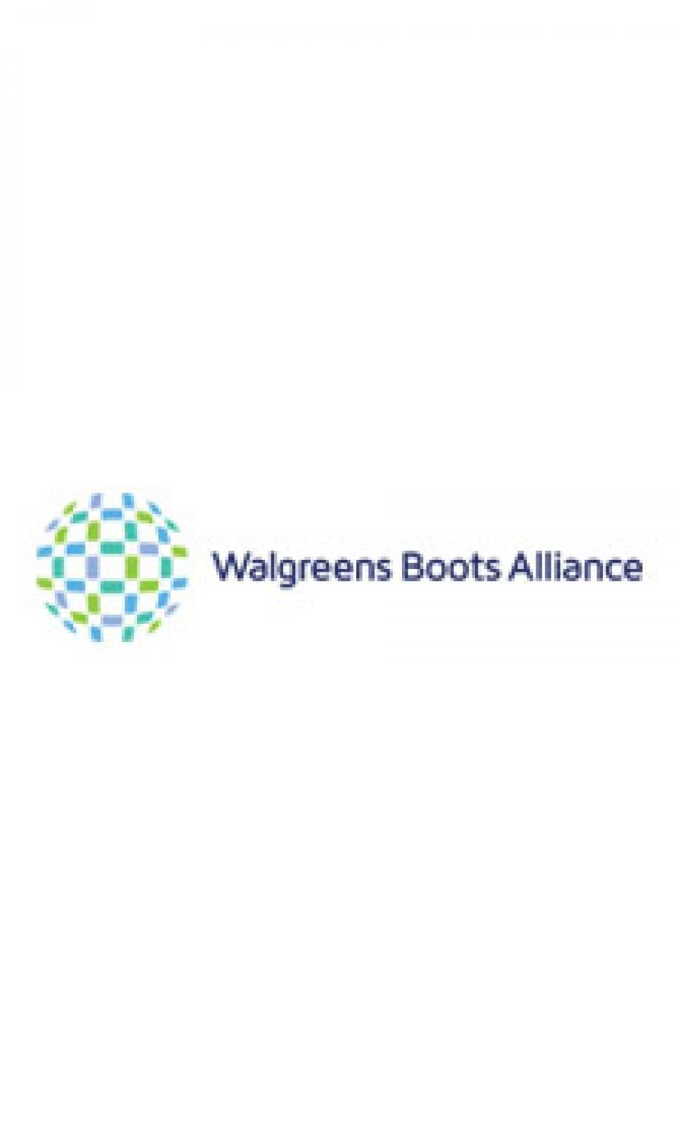 The Walgreens Boots Alliance logo pictured on a white background